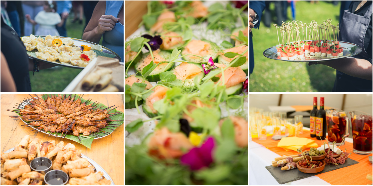 2 A Selection of Kerras Catering Canapes