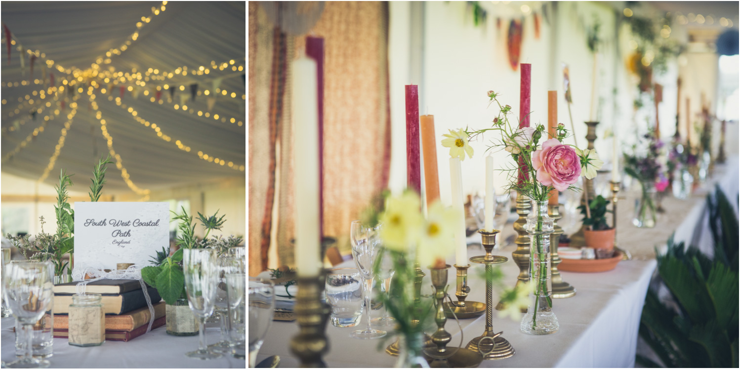 16 natural reception table decorations