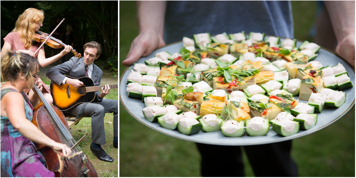 7 Musicians and canapes KerrasCatering