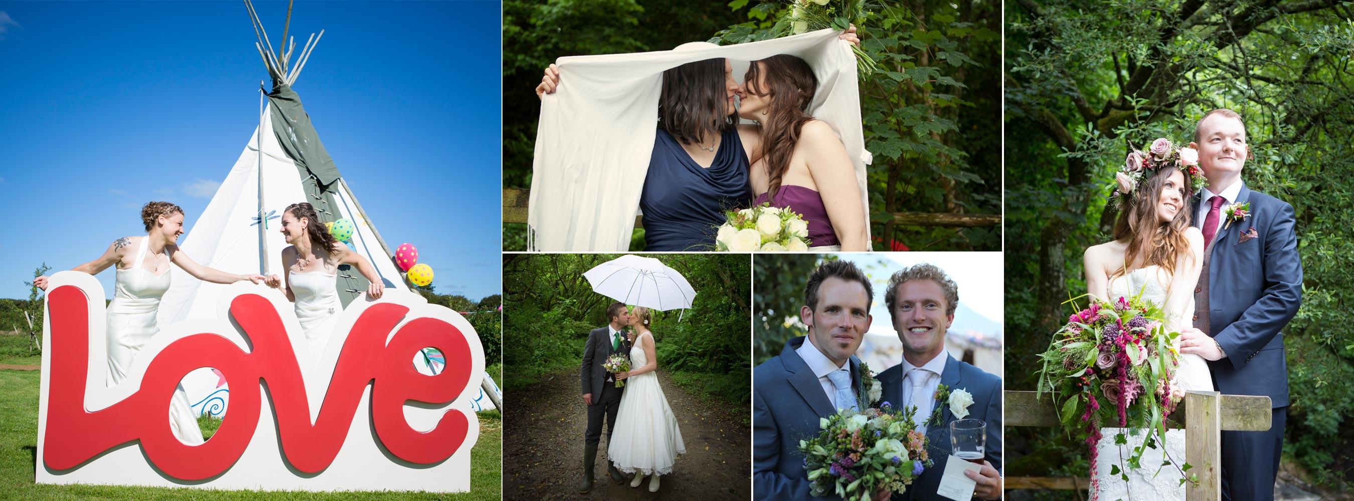 Couples Woodland Weddings