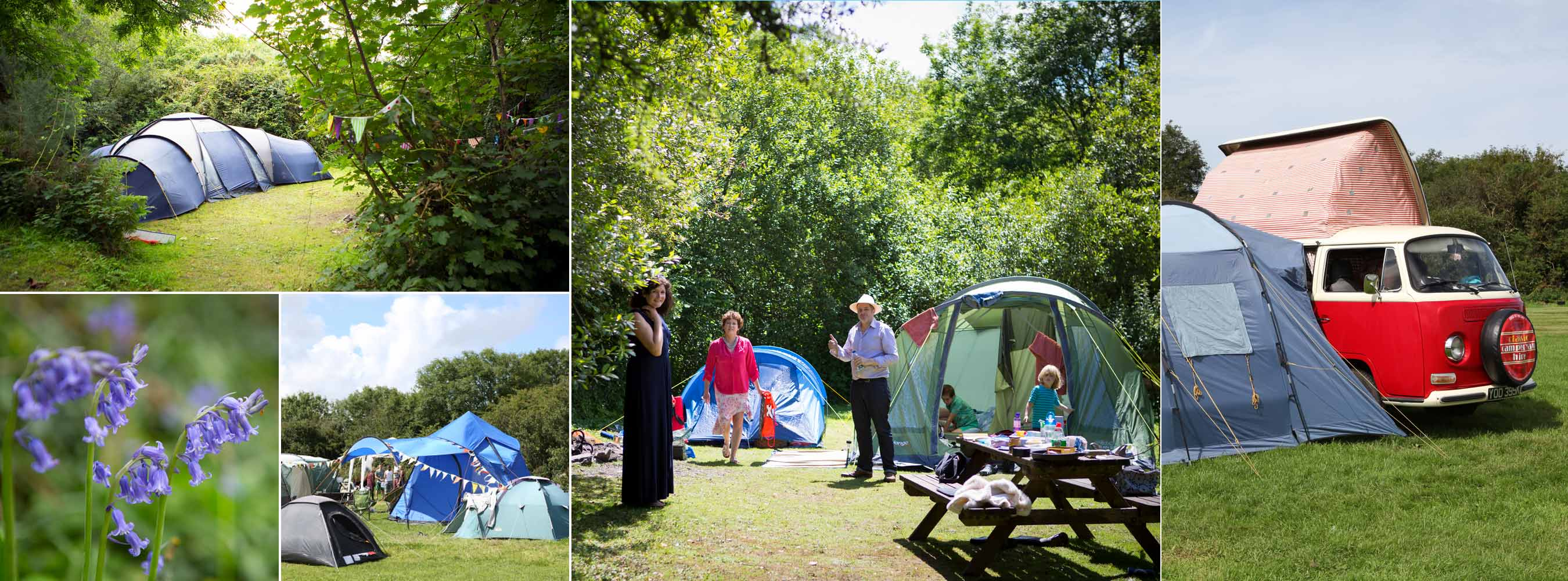 Wild Camping for Guests, bring your own tent or campervan
